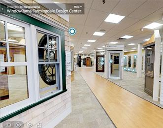 Virtual showroom video gallery