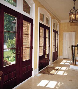 Andersen architectural entrance doors
