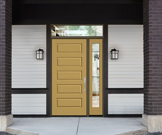 Therma Tru entry doors - classic craft canvas collection