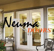 Neuma patio doors
