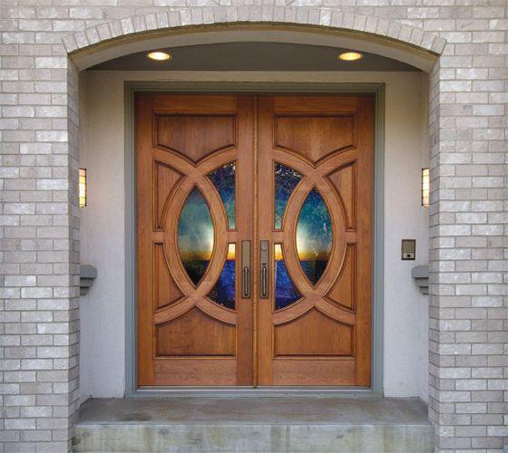 Simpson exterior specialty shape doors