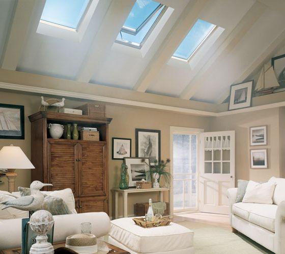 VELUX solar windows