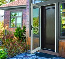 Andersen Storm Doors with SmoothControl™ doors