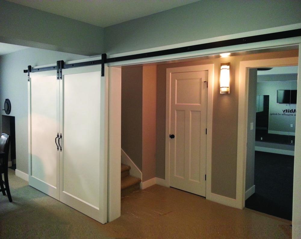MDF Primed Interior Barn Door