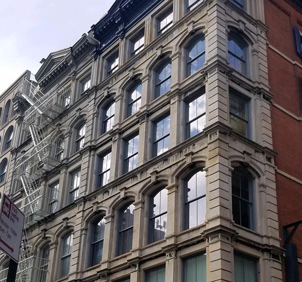Walker Street building gets an update