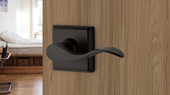Yale Expressions Hardware - Black Door Handle