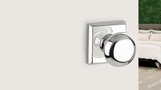Yale Expressions Hardware - Silver Door Knob
