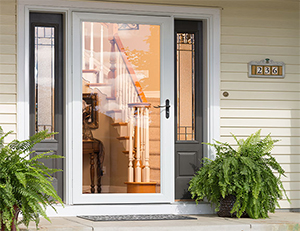 Larson storm door installation