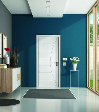 Interior doors - primed stile & rail doors